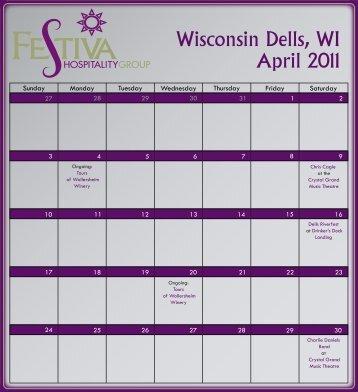 April 2011 Wisconsin Dells WI