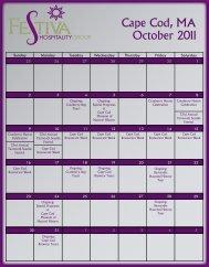 October 2011 Cape Cod MA