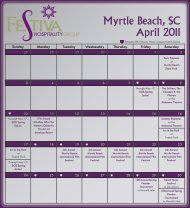 April 2011 Myrtle Beach SC