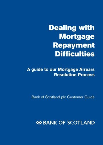 Dealing with Mortgage Repayment Difficulties