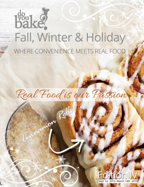 Do You Bake? Fall & Winter 2015/16