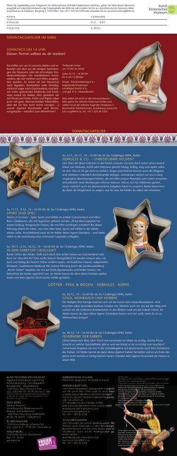 PDF herunterladen - Kunsthistorisches Museum
