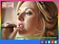 Get Rome wedding hair and make-up artist at Rome Wedding Team