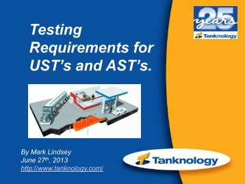 UST's and AST's