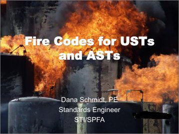 Fire Codes for USTs and ASTs