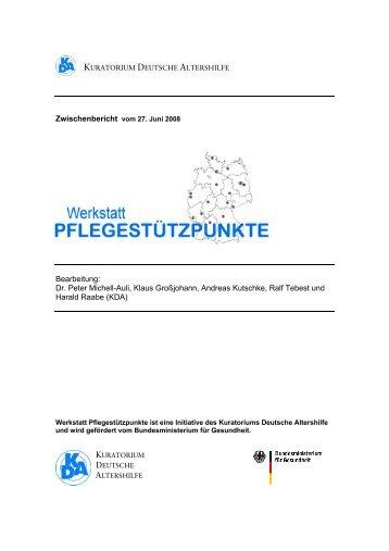 Zwischenbericht - Kuratorium Deutsche Altershilfe