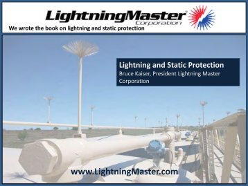 Lightning and Static Protection - NISTM