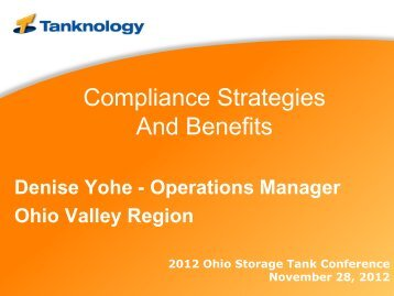 Compliance Strategies And Benefits