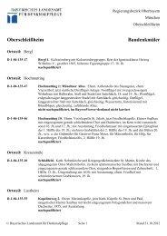 Oberschleißheim Baudenkmäler - Bayern