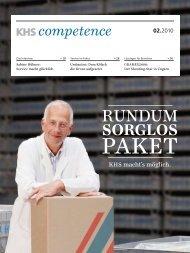 KHS Competence 02.2010, deutsch