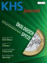 KHS Journal 2008-01, deutsch