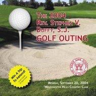 golf outing - Regis High School