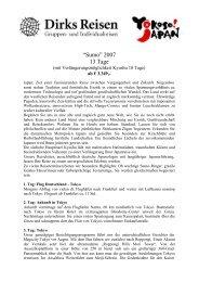 Anmeldung und Buchung bei - Dirks Reisen GmbH Co.KG