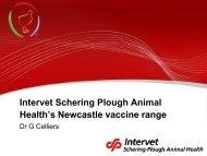 Health's Newcastle vaccine range