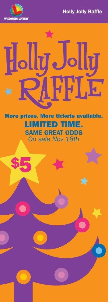Holly Jolly Raffle - Wisconsin Lottery