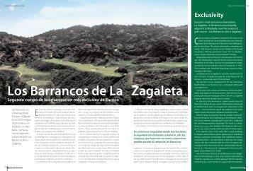 Los Barrancos de La Zagaleta