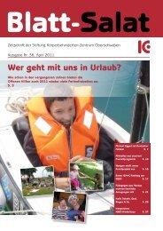 Ausgabe Nr. 36 April 2011 - Körperbehinderten Zentrum ...