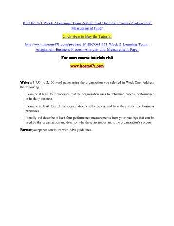 individual elements of lean paper essay