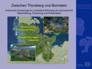 Zwischen Thorsberg und Bornstein