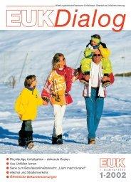EUK-DIALOG Heft 1/2002 - Eisenbahn-Unfallkasse