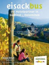 Ihr Hotelpartner in Südtirol - Dolomiten - Tourismusverband Eisacktal