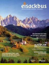 eisackbus Katalog (2667 KB) - Tourismusverband Eisacktal