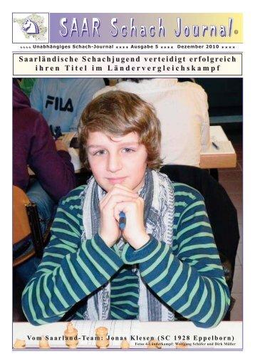 SAAR Schach Journal - Schachclub GEMA St. Ingbert
