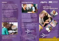 Music Therapy with Cambridgeshire Music