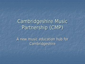 Cambridgeshire Music Partnership (CMP)