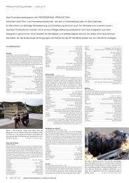 Produktionstelegramm aus PP 06-07/12 - Professional Production