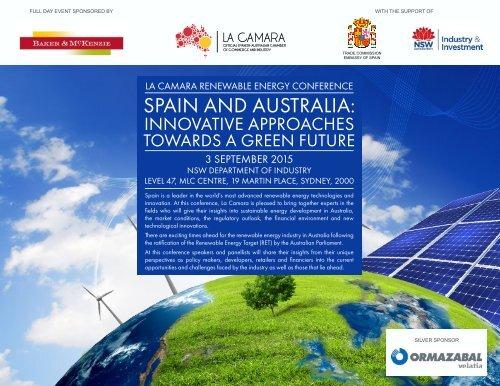 SPAIN AND AUSTRALIA