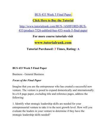 ashford bus 308 final paper