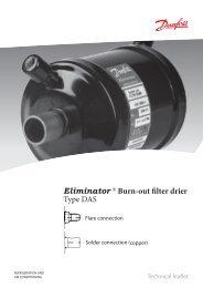 Eliminator ® Burn-out filter drier Type DAS - Winnovation