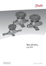 Shut-off valves type BM