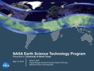 NASA Earth Science Technology Program