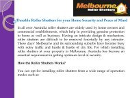 Durable Roller Shutters for your Home Security and Peace of Mind.pdf