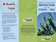 Quilt Brochure - FarmAssist