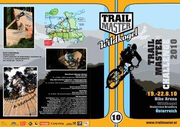 TRAIL MASTER CHALLENGE 2010 - Canyon LIVE ERLEBEN BLOG
