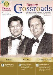 Vol.49 No 44 - the Rotary Club of Singapore