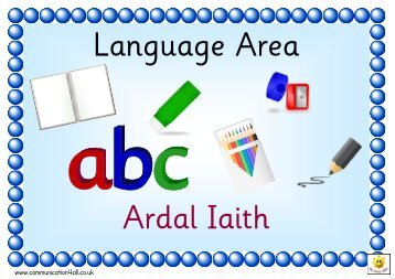 Ardal Iaith