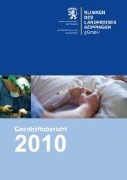 Inhalt - Kliniken des Landkreises Göppingen gGmbH