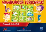 Ferienpass Sommer & Herbst 2012 - Jugendinformationszentrum