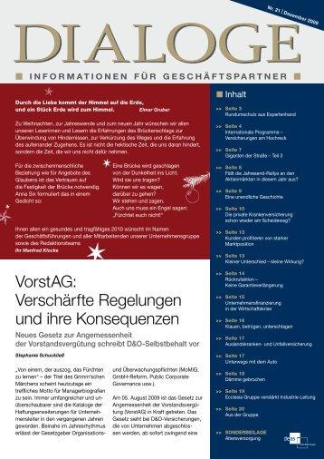 InformatIonen für Geschäftspartner - JL Orth GmbH Assekuranzmakler