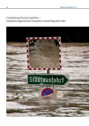 Combating floods together – targeted approaches towards countering the risks