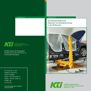 Broschüre (PDF, 1.91 MB) - KTI