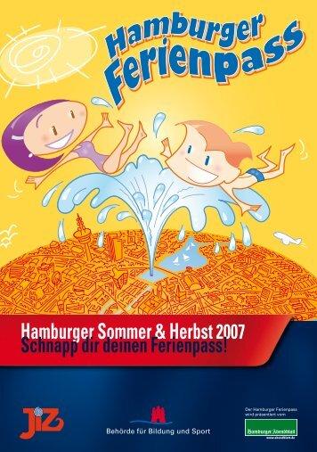 Hamburger Ferienpass Sommer + Herbst 2007
