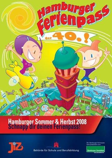 Hamburger Ferienpass Sommer und Herbst 2008