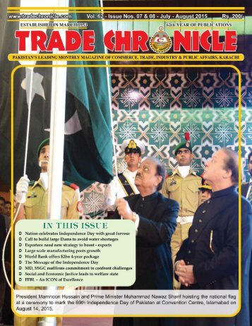 Trade Chronicle July & August 2015