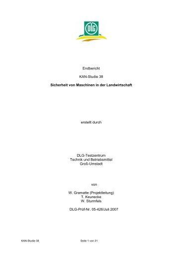 Bericht des Projektnehmers - KAN