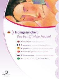 Intimgesundheit: Das betrifft viele Frauen! - Dr. Kade